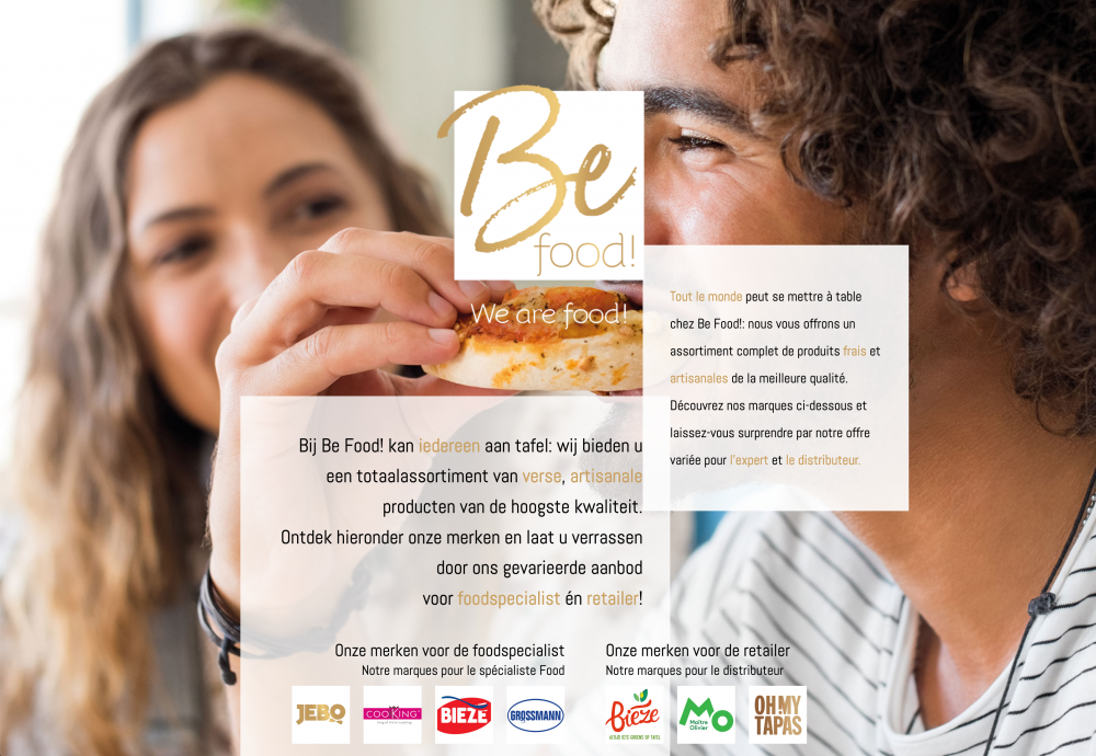 BeFood! - Jebo Food, Better, Best! - BeFoodNV.be
