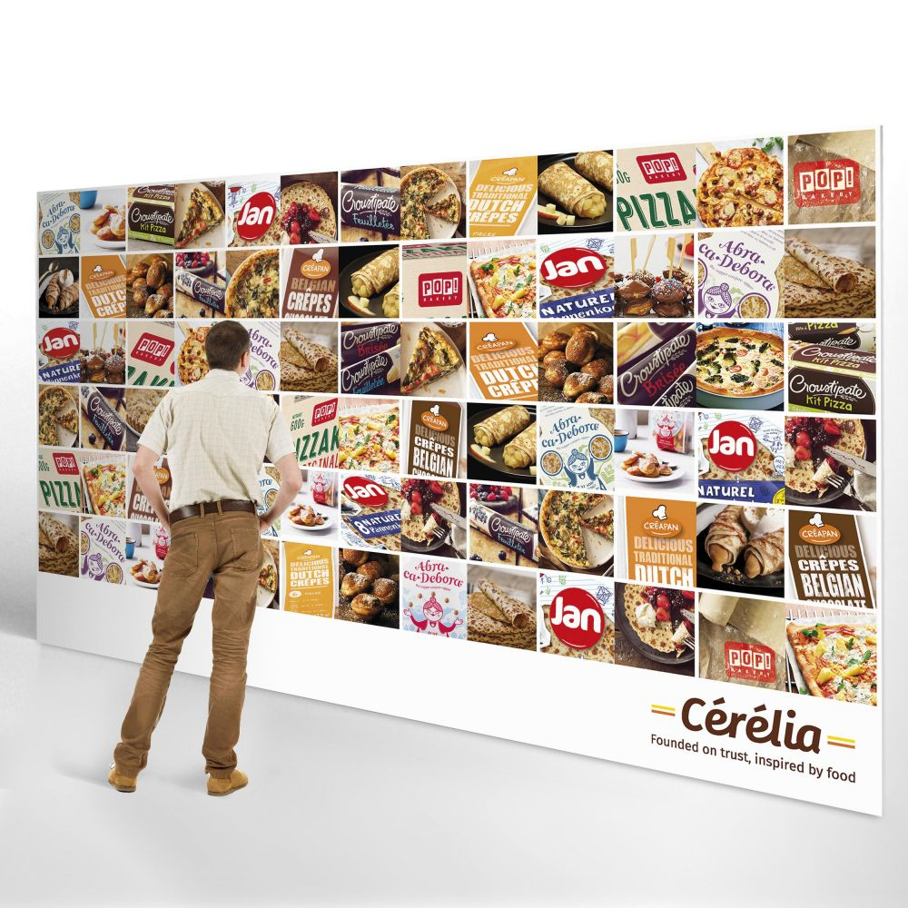 Cérélia - Founded on trust, inspired by food - Wall of brands