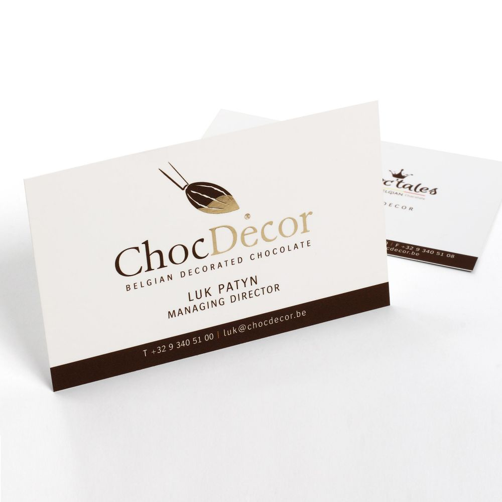ChocDecor - Belgian Decorated Chocolate - Huisstijl