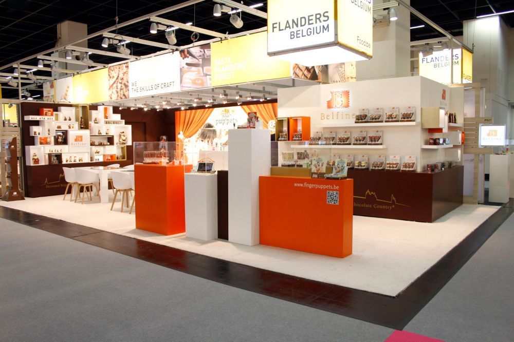ChocDecor - Belfine - Exhibition stand