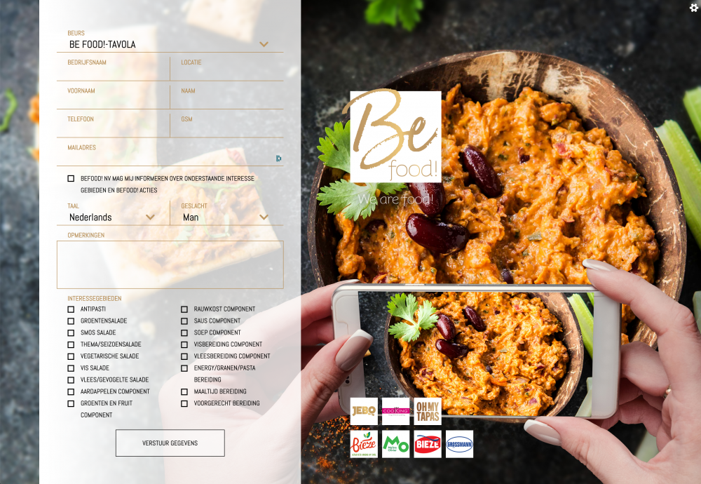BeFood! - Jebo Food, Better, Best! - CRM application