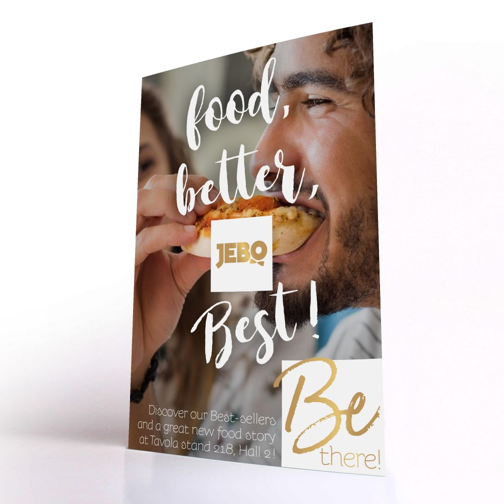 BeFood! - Jebo Food, Better, Best! - Product leaflets