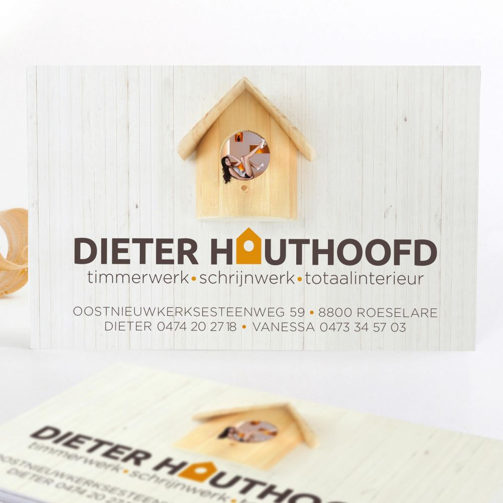 Dieter Houthoofd - Carpentry & interior - Corporate Identity
