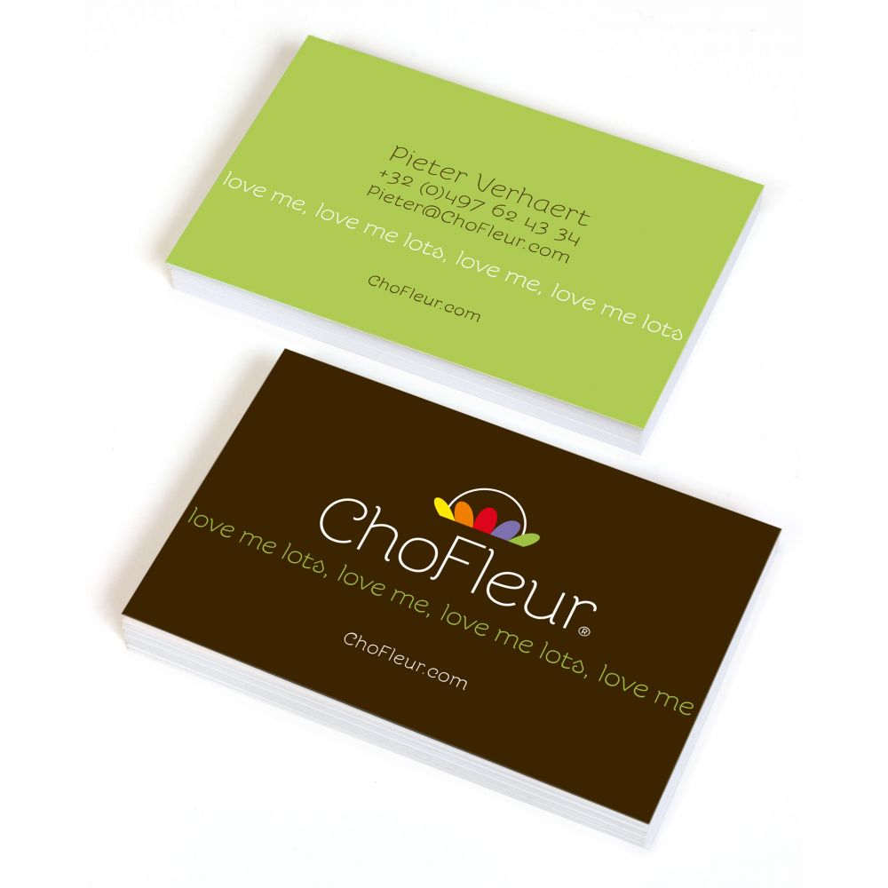 ChoFleur - Flavours to melt for - Corporate identity