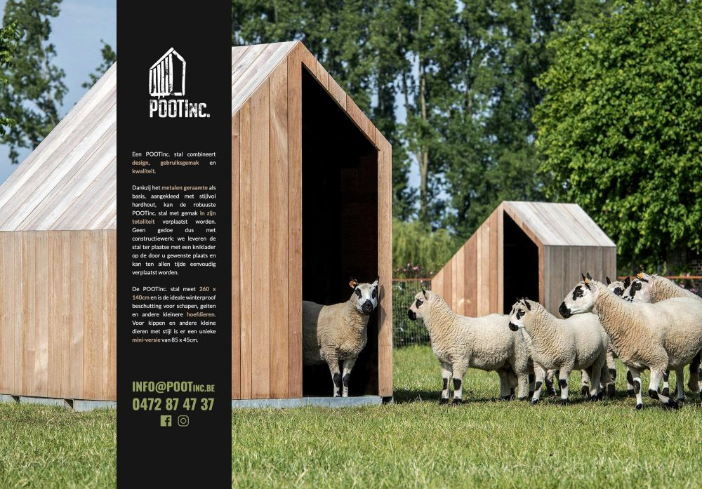 POOTinc. - Design stables for small animals - POOTinc.be