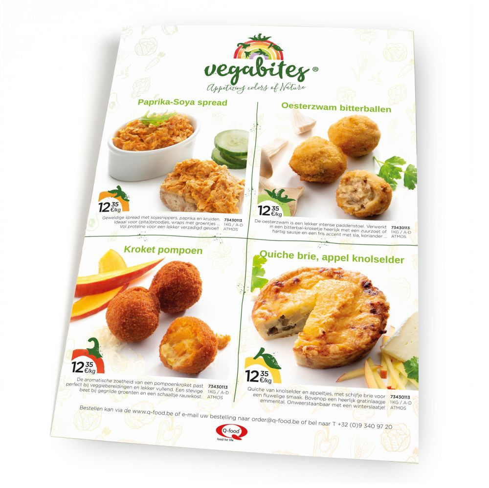 Vegabites - Appetizing colors of Nature - Leaflet